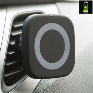 차량용 무선 충전 거치대 / 자석거치대 + 무선충전