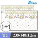1+1 뽀로로벅스 웰빙 놀이방매트 230x140x1.2cm 유아