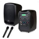 AT-310N 행사용앰프 150W 무선 핸드마이크 2개