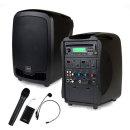 AT-310N 행사용앰프 150W 무선 핸드+해드셋마이크