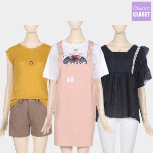 바캉스추천 인기티셔츠 할인특가 라운드/프린팅/니트
