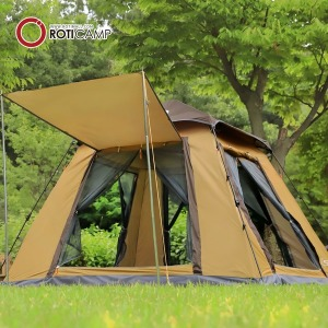 원터치 사각 텐트 4인용 캠핑 용품 낚시 그늘막