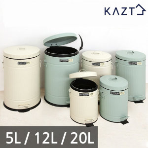 로이드스틸페달슬라이딩휴지통5L 쓰레기통 분리수거함