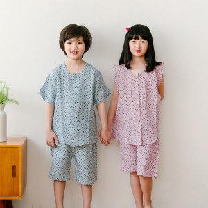 아동잠옷 주니어 인견 국내산 시원한 여름소재 파자마