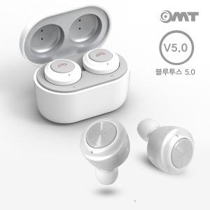 OMT 완전무선 TWS 블루투스 5.0 무선 이어폰 OBT-W7