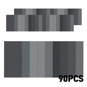 [블루윈] 재단 종이사포 세트 90매 (400-3000 ) - H403