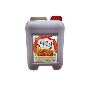 소스(떡볶이 진미 10kg)