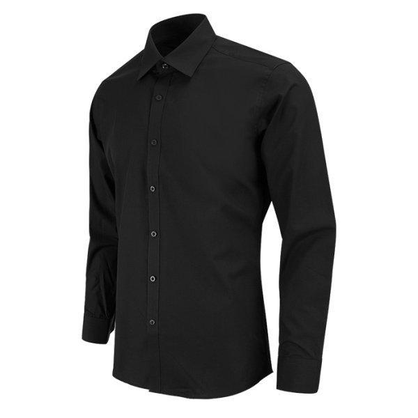 레디핏 Ready Fit  슬림핏 데일리 블랙 검정색 긴팔셔츠