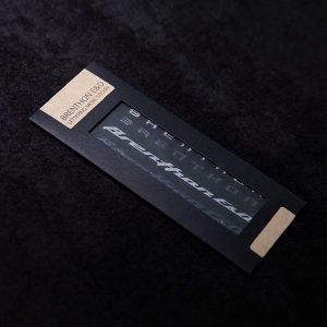 브렌톤 레터링 메탈스티커 A/B타입 BM3-M02