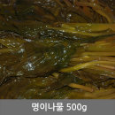 명이나물 500g 반찬 청정 동해안 속초