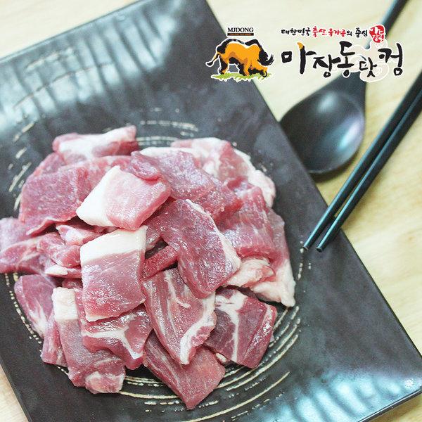 찌개용 돼지 앞다리살 정육 500g/김치찌개/된장찌개
