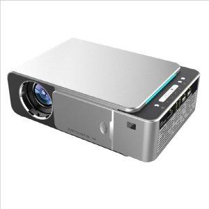UNIC T6 LED 프로젝터 200인치 HD1080 wifi - 실버
