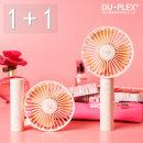 휴대용 선풍기 손선풍기 (1+1) DP-691MF 핑크+화이트