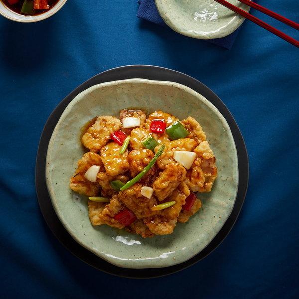 바삭하고 쫀득~ 북경식 찹쌀꿔바로우 1kg (소스미포함)