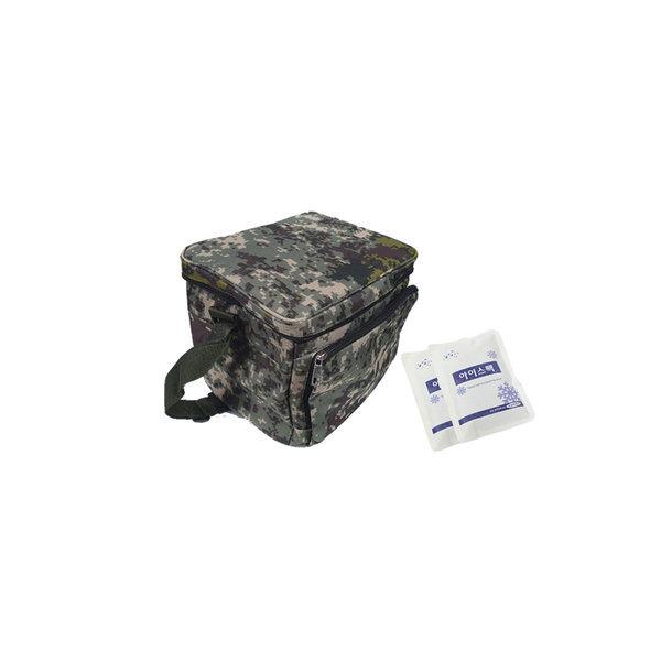 디지털쿨러백/보냉가방 사각아이스가방(아이스팩2개)