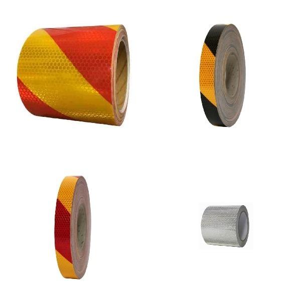 반사테이프 벌집무늬 고휘도 사선 강력 접착 작업용