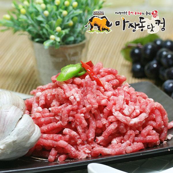 돼지앞다리살 다짐육 (민찌) 500g/동그랑땡/고기만두
