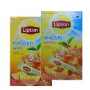 립톤 아이스티스틱20t레몬맛+20t복숭아맛