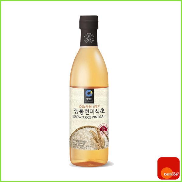 식초 자연발효 정통 현미식초 2400ml/800mlx3병