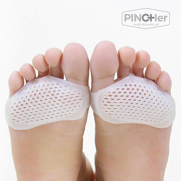 핀처 실리콘 발가락링 발바닥 앞꿈치 뒤꿈치 풋 패드