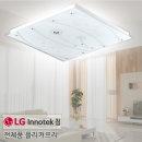 100%국산플리커프리 LED거실등 플라워 거실5등125w