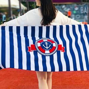 1+1 패션 비치타올 가운 물놀이 수영 목욕 타월 수건