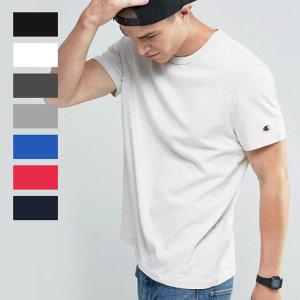 챔피온 무지 로고 반팔 티셔츠 T425