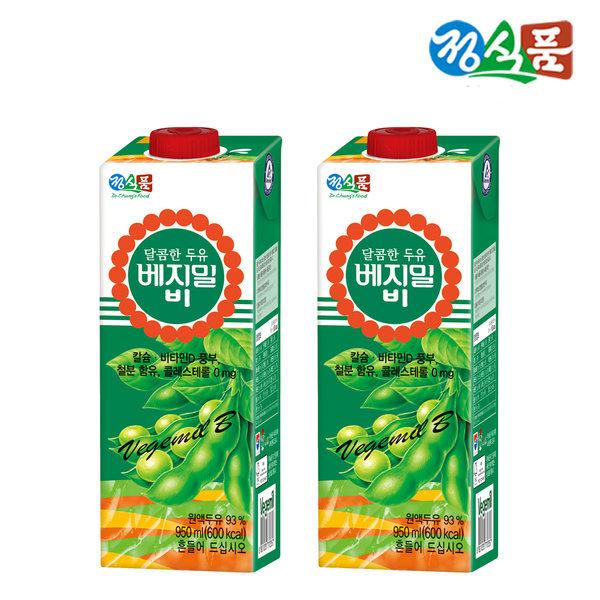 베지밀 달콤한 베지밀B 950ml 3팩 무료배송