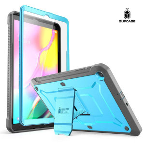 Supcase 갤럭시탭A 10.1 태블릿 케이스 스탠드 블루