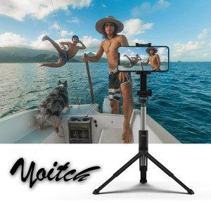 블루투스 셀카봉 4세대 삼각대 거치대 WT800 블랙