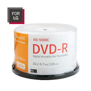 FOR LG DVD-R 50장 케이크/케이스 4.7GB 16배속 공DVD