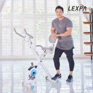 리퍼 양치승 접이식헬스자전거 YA-140/헬스싸이클/실내자전거/유산소운동