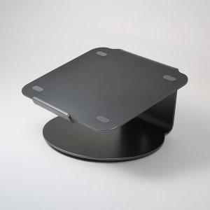 알루미늄 노트북 거치대 POUT EYES4 메탈그레이