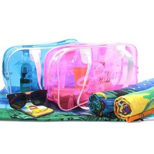 비치가방/해변여행갈때/수영가방/투명비치백/물놀이