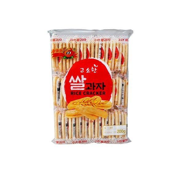 고소한쌀과자 200g 33봉지 낱개포장