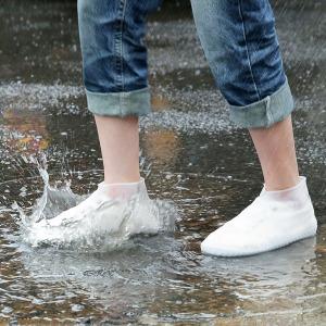 실리콘방수커버/투명지퍼방수장화/레인커버/신발커버