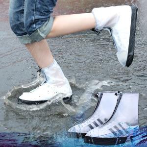 투명지퍼방수장화/실리콘방수커버/레인커버/신발커버