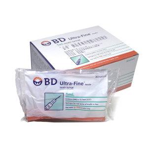 BD 벡톤디킨슨 인슐린주사기 1mL 29G 13mm 100개