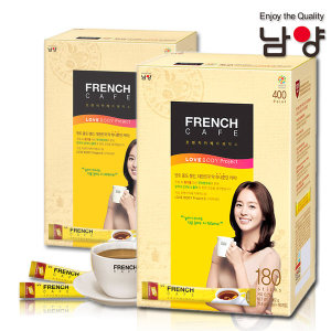 프렌치카페 카페믹스 프리미엄 400T(180X2) /커피믹스