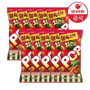 오리온 치킨팝 땡초찜닭 81gx10개