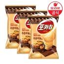 오리온 포카칩 구운마늘맛 66gx3개