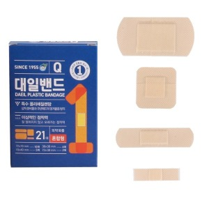 대일밴드 큐 혼합형(21매)/반창고