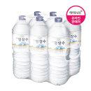 강원 평창수 2L 6pet / 생수 / 물 / 먹는샘물