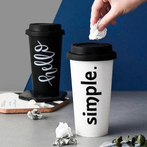 휴지 쓰레기 콘솔박스 컵 다용도 포켓 차량용 휴지통