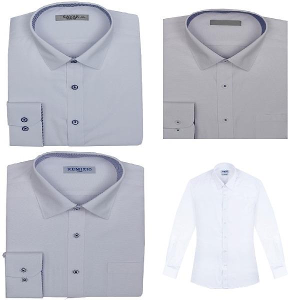 남성셔츠 긴팔 패션 정장용 남자 디자인 컬러 화이트