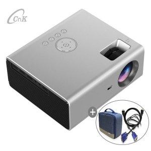 CnK CR01 가성비 가정용빔프로젝터 휴대용캠핑미니빔
