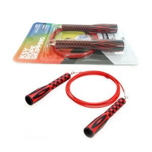 김수열 줄넘기 초고속 줄넘기 (K-200) 빨강
