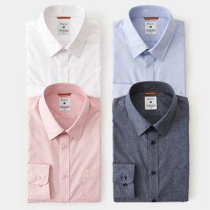 남성 기본 솔리드 셔츠 택1