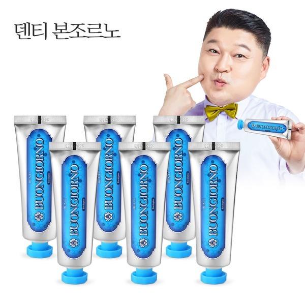 덴티본조르노 치석치약 (100g 6개)/치약추천/칫솔추천
