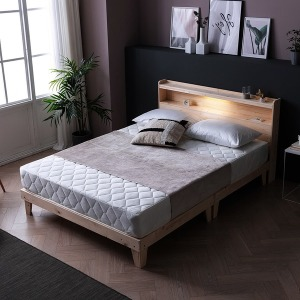 최대 20%쿠폰 팩트 LED 원목침대 침대 프레임 SS Q